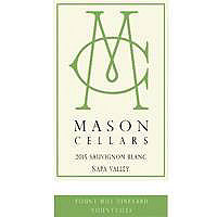 Mason 2015 Sauvignon Blanc, Yount Mill Vyd., Yountville, Napa Valley