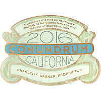 Conundrum 2016 White Blend, California, Wagner Family