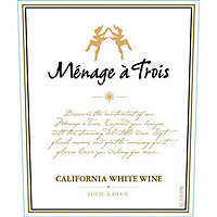 Menage a Trois 2016 White Blend, California