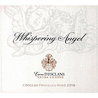 Whispering Angel 2018 Rose Cote de Provence, Caves D'Esclans