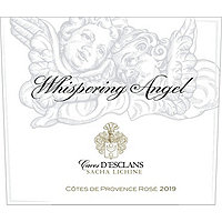 Whispering Angel 2019 Rose Cote de Provence, Caves D'Esclans