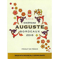 Chateau Auguste 2018 Rose, Bordeaux