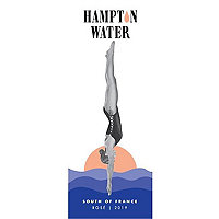 Hampton Water 2019 Rose, Languedoc-Roussillon