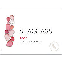 Seaglass 2017 Rose, Monterey County
