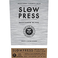 Slow Press 2016 Sauvignon Blanc, California