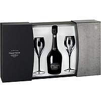 Laurent-Perrier, Grand Siecle NV Brut Champagne Gift Set w / 2 Glasses